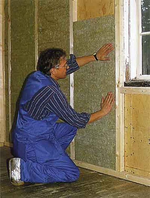 Материалы для утепления стен.